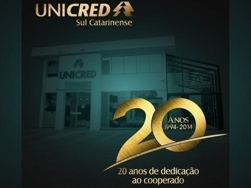 UNICRED SUL CATARINENSE - 20 ANOS