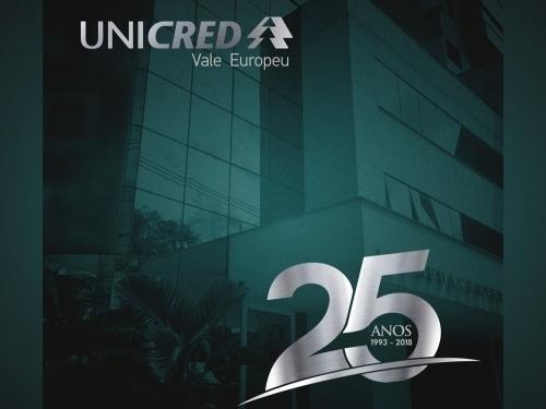 UNICRED VALE EUROPEU - 25 ANOS
