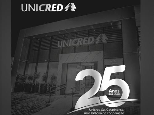UNICRED SUL CATARINENSE - 25 ANOS