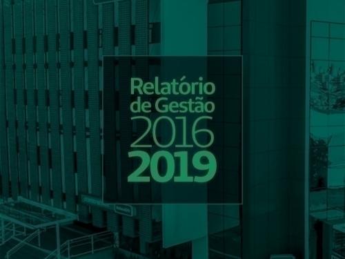 RELATÓRIO DE GESTÃO - 2016.2019 - UNIMED TUBARÃO
